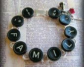 Ever wondered what to do with old typewriter keys?