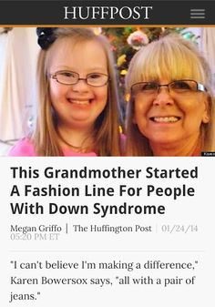 Downs Designs: Special Clothes for Special People by Karen Bowersox — Kickstarter Downs Designs expands to offer black dress pants to unique market of people with Down syndrome https://www.kickstarter.com/projects/2005207412/downs-designs-special-clothes-for-special-people