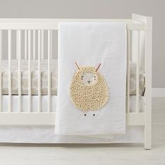 Sheepish Baby Bedding by Gingiber for Land of Nod