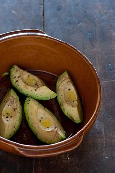 Roast Avocado. How to properly roast an avocado and what to do with it when you do.