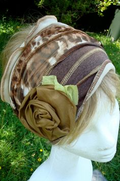 Womens Head Wrap Headband chemo hat Leopard by GypsyLoveHeadbands, $45.00