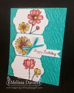 Stampin' Up! Bloom with Hope - NEW HOSTESS EXCLUSIVE - by Melissa Davies @ rubberfunatics