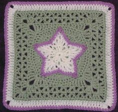 Star Overlay Square Motif By Chris Simon - Free Crochet Pattern - (yarncrazy.blogspot)