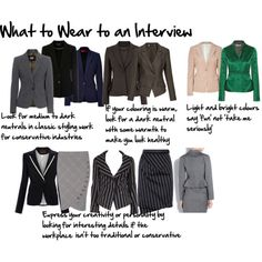 What to Wear to an Interview (including the psychology of color)