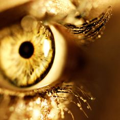 gold eyes | deviantart, eye, glitter, gold, magic, never - inspiring picture on ...