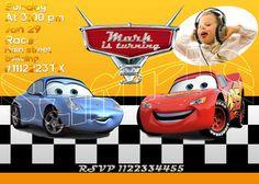 Disney Cars Birthday Invitation  Printable Disney Cars by vitalydi, $9.99
