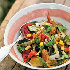 Fire-Roasted Vegetable Salad | MyRecipes.com