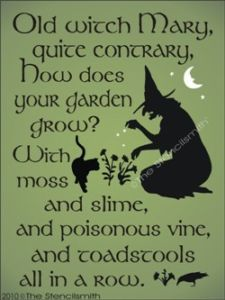Halloween Witches Poem