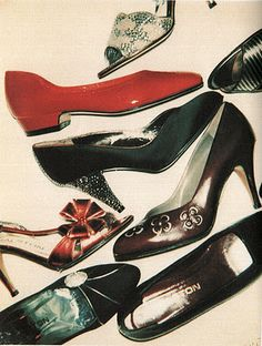 HALSTON SHOES BY WARHOL