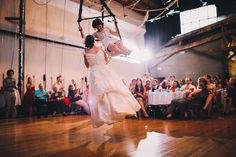 Betsy & Tiffany's queer Southern glitter circus wedding
