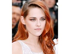 @Byrdie Beauty - Kirsten Stewart    Kristen Stewart's look at the Cannes premier of Clouds of Sils Maria last month was the epitome of daytime sultry done right. Makeup artist Christophe Danchaud mixed warm brown, gray, and black tones from Chanel's Quadra Eyeshadow ($59) in Tissé Mademoisell and lined her top and bottom lashes with the dark purple shade from the Tissé Gabriellepalette for a hint of shimme.