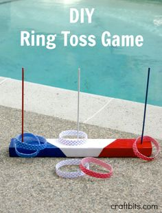DIY Ring Toss Game –