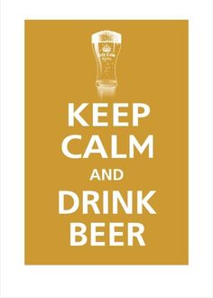 keep calm - drink homebrew
