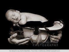 newborn fireman baby