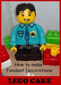 How to make Fondant decorations