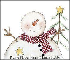 snowman prairi flower, countri snowman, flower farm