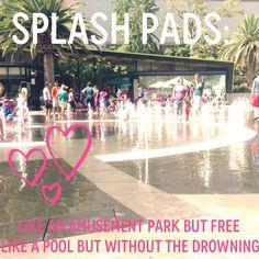 #SPLASHPADS FTW! Suck it, drowning.