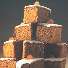 Preserved Ginger Cake with Lemon Icing   Recipe by Delia Smith