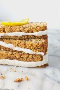 Paleo and gluten-free desserts: Lemon Pound Cake