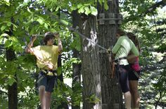 TreeTops Adventure Course at Camelback Mountain Adventures! #IAmAdventure #ZipLine #Obstacles #Adventure #PoconoMtns
