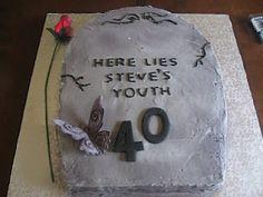 Tombstone Cake