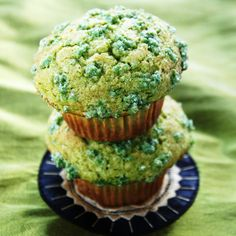 Naturally Green St. Patrick's Day Muffins