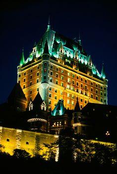 Hotel Fairmont Le Chateau Frontenac, el Viejo Quebec, Quebec, Canadá