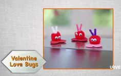 Pom Pom Valentine Lovebug Magnets @Yaffa Rasowsky and Takes.com