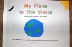My Place in the World booklet