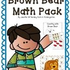 Brown Bear Math Pack: Here's a fun pack that covers a ton of beginning-of-the-year concepts! It has a mix of no-prep sheets and work station activities