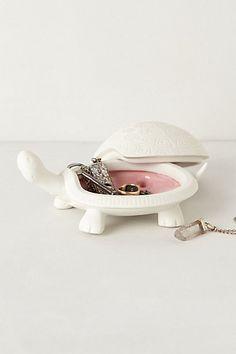Tortoise Trinket Dish #anthropologie