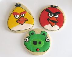 Angry birds - design from Sweet Sugarbelle