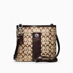 coach sutton large swingpack WANT