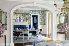 Lee Ann Thornton | House Beautiful | incredible dining room