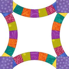 Create this super fun Vegas Wedding Ring Quilt Block. This is an awesome free tutorial that's unlike any other quilt block ideas out there right now.