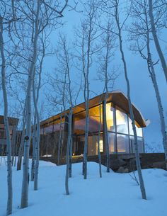 The Wildcat Ridge Residence by Voorsanger Architects in Aspen, Colorado | Yatzer