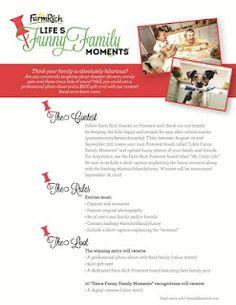 An Ordinary Housewife: Farm Rich Pinterest Contest #PTbabyconcierge