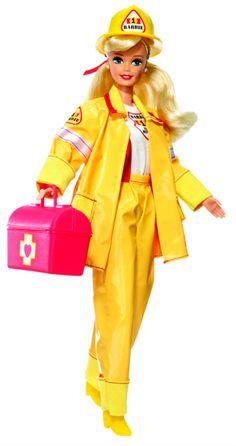 Firefighter Barbie