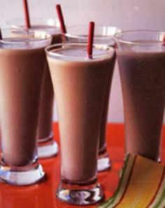 CHOCOLATE MEXICANO SHAKE RECIPE  (Makes 1 serving)  1 cup unsweetened almond milk   1 scoop Chocolate Shakeology  1/2 tsp. ground cinnamon  1 cup ice cubes     1.Place almond milk, Shakeology, cinnamon, and ice in blender; cover. Blend until smooth.