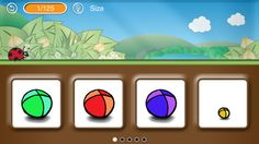 What's Different ($1.99) What's Different is a fun educational game for young children (ages 3 and up). Join the adorable ladybug guide on a learning adventure that will keep your little ones thinking and guessing.    * Find the object that is different  * Play your way through 125 sets  * Get hints in 5 languages  * Browse game images in the gallery  * Enjoy high-end graphics and a friendly interface