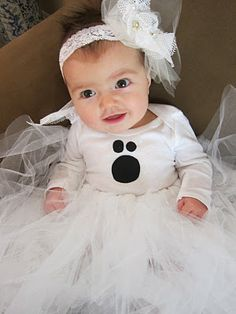 #DIY: Baby Ghost Halloween Costume Tutorial Revealed |do it yourself divas