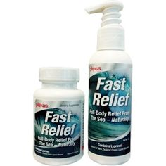 FAST RELIEF Combo Pack (includes FAST RELIEF Cream and FAST RELIEF Capsules) Www.Lgrove.myplexusproducts.com
