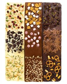 7 chocolate bark rec