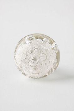 Glass Bubble Knob  #anthropologie