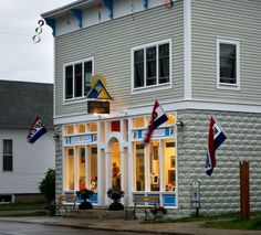 AMAZING works of art at Sleeping Bear Gallery on Front Street in Empire, MI (one block from our cottage)!