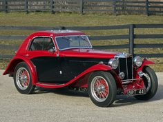 1935 MG NB Magnette Airline Coupe by Allingham.
