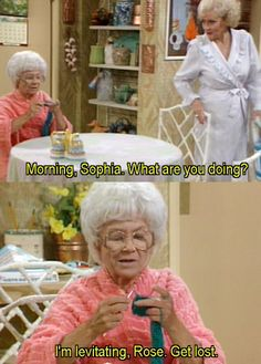 the golden girls - sophia petrillo  <3 Golden Girls and all of the ladies!!