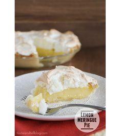 Classic Lemon Meringue Pie | www.tasteandtellblog.com #recipe #pie #thanksgiving