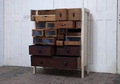 Wow, awesome use of old drawers