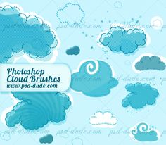 FREE: Cloud Brushes (ABR)